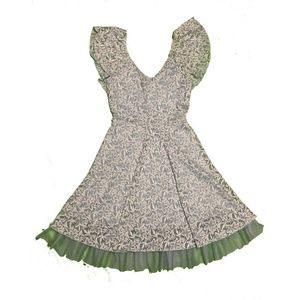 Disney Cinderella Small Lace Chiffon Dress Blue